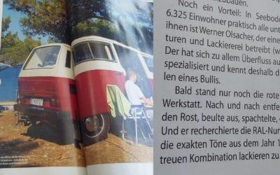 Reportage über einen von uns restaurierten VW T3 Syncro.